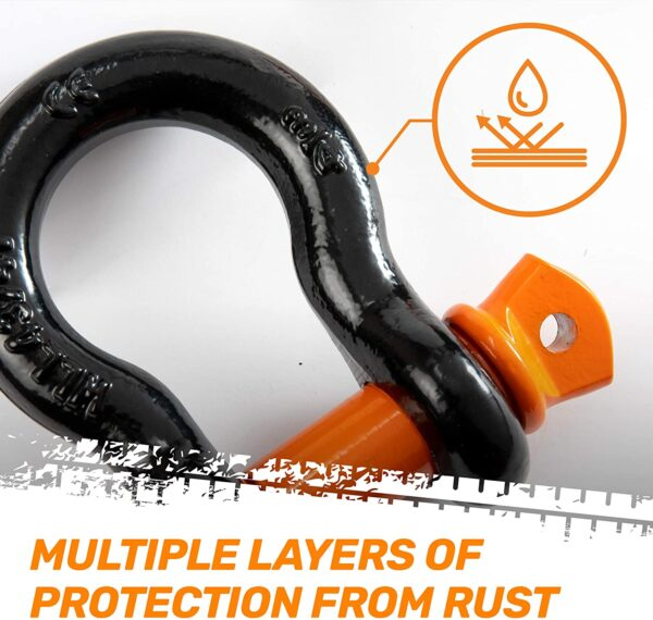 """RoofPax Stump Removal for Jeeps & Trucks 7/8"""" Screw Pin+Silicone Washers"""