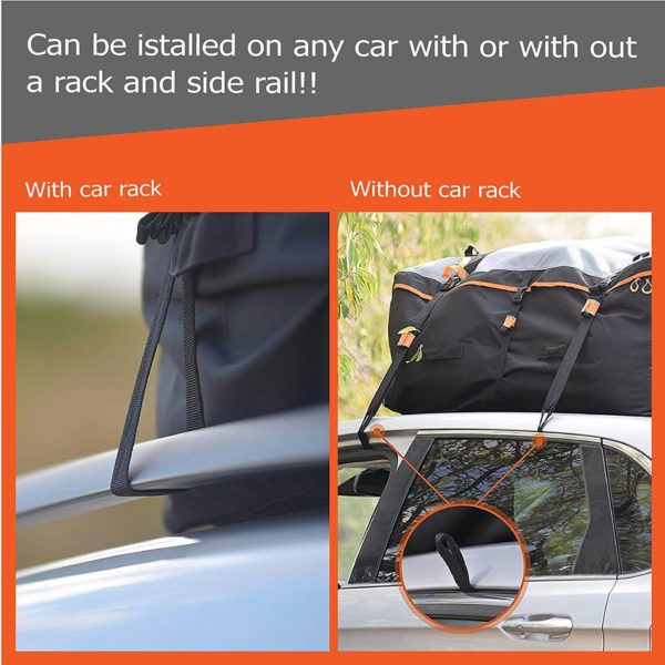 Can be installed on any car with or with out a rack or side rail