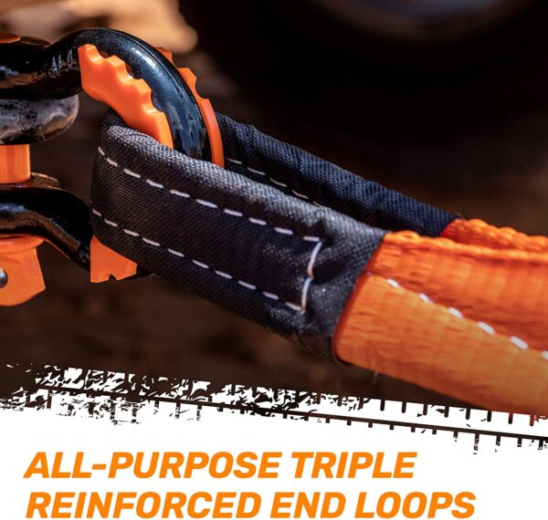 """RoofPax Recovery Rope Tow Strap 3"""" x 20 ft."""