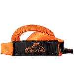 RoofPax Tow Strap 3″ x 20 ft. Off Road Recovery Rope | 30,180 lb Break Strength Capacity | Heavy Duty Winch Strap with Triple Reinforced End Loops | Essential Recovery Kit for Getting Unstuck