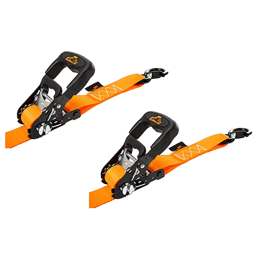 Ratchet Straps by RoofPax (4-Pack)