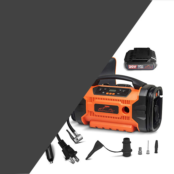 RoofPax Air Compressor for Car Tires